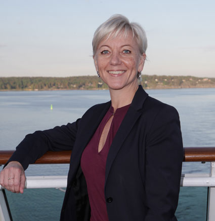 Satu Andersson, ny vd för Birka Cruises från den första augusti ...