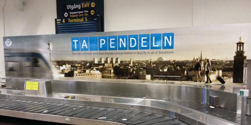 SL satsar miljonbelopp på att förmå flygresenärer att välja bort kommersiell kollektivtrafik.