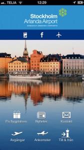 Swedavia struntar i att som myndighet vara konkurrensneutral. Med sin nya app markndsför man Arlanda Express och parkeringsmöjligheter för bilar. Annan kollektivtrafik finns inte…