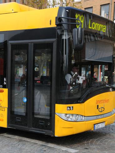 Skånetrafiken har tvingats stoppa installation av ett nytt system för realtidsinformation. Foto: Ulo Maasing.
