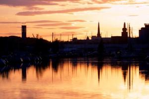 Västerås Skyline. Foto: Clifford Shirley.