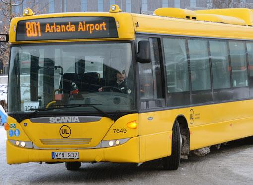 Oljerenaren på samtliga Nobinas Scania Omnilink biogasbussar i Uppland byts ut. Foto: Ulo Maasing.