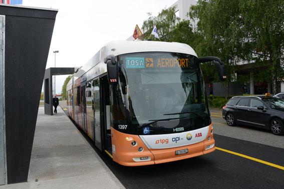 Tosa – en nyutvecklad elbuss för BRT-system premiärvisades tidigare i år. Något för Stockholm? Foto: Ulo Maasing.