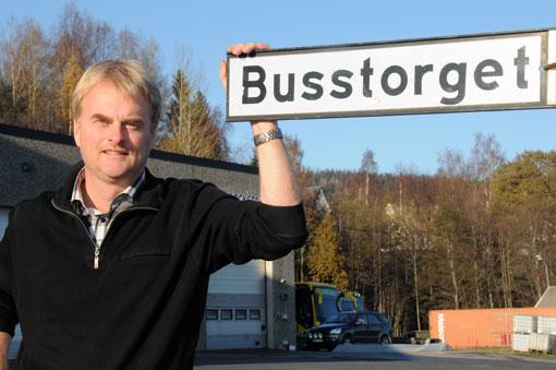 Tomas Byberg, ordförande i Mittbuss: För oss innebär det här minst en dubblering, kanske nästan tredubbling av verksamheten. Foto: Ulo Maasing.