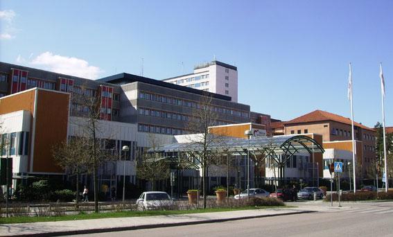 Mälarsjukhuset i Eskilstuna. Foto: Raphael Saulus/Creative Commons.