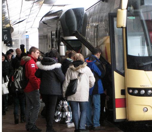 En ny lag om passagerares rättigheter införs nästa sommar. Foto: Ulo Maasing.