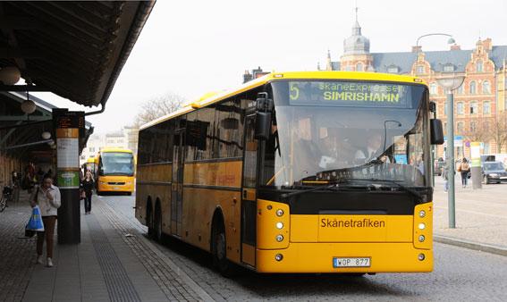 Skånetrafiken får 220 nya miljoner nästa år. Start för Malmöexpressen, dubbeldäckare i regiontrafiken och internet på expressbussarna tillhör nyheterna. Foto: Ulo Maasing.