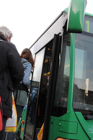 Skånetrafikens nya tjänst för enkelbiljetter har snabbt blivit populär. Foto: Ulo Maasing.