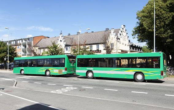 Så ser det nya ekipage ut som Kristianstadsborna snart får se i trafik. Foto: Skånetrafiken.