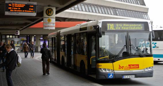 Berlin är en av de städer som nästa år ska konvertera en busslinje till helt elektrisk med induktiv laddning. Foto: Ulo Maasing.