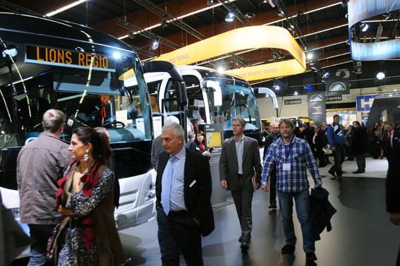 Förra upplagan av Busworld lockade närmare 32000 besökare. Foto: Ulo Maasing.