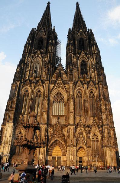 Känd tysk turistattraktion –domkyrkan i Köln. Foto: Ulo Maasing.