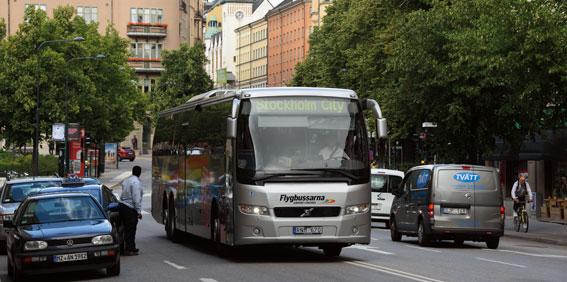Nu kan flygbussresan ge dig poäng hos Norwegian. Foto: Ulo Maasing.