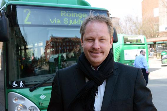 Skånetrafikens trafikdirektör Henrik Dagnäs. Foto: Ulo Maasing.