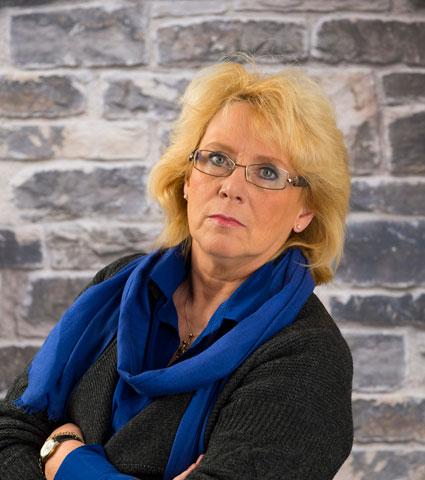 Miljöminister Lena Ek (C) vill införa en supermljöpremie för tunga fordon. Foto: Centerpartiet.