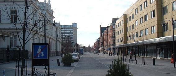 Storgatan i Luleå.