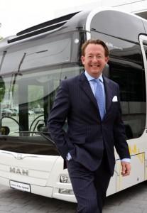 Franz Freiherr von Redwitz, MAN: Elektrifiering är en överlevnadsfrågs för busstilverkarna. Foto: Ulo Maasing.