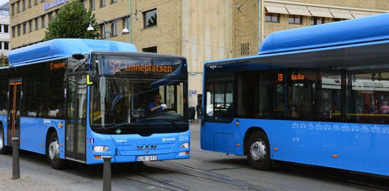 MAN toppade nyregistreringar av bussar i augusti. Foto: Ulo Maasing.