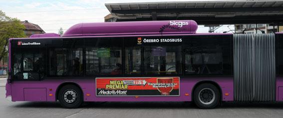Örebroare som provat på att åka bussgratis fortsätter ofta även efter provperioden. Foto: Ulo Maasing.