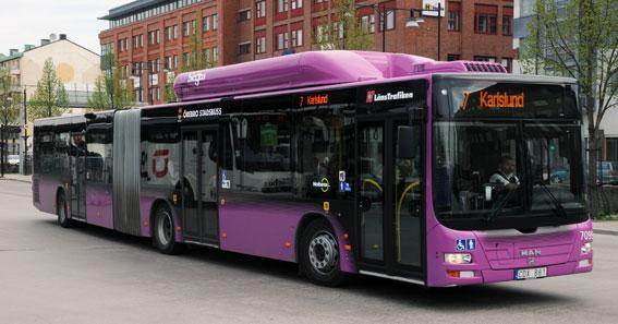 I februari nästa år för Örebro ett nytt linjenät för stadsbussarna. Foto: Ulo Maasing.