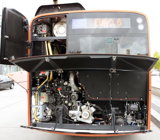 Solaris Urbino 18 med Euro 6-motor från DAF. Foto: Ulo Maasing.