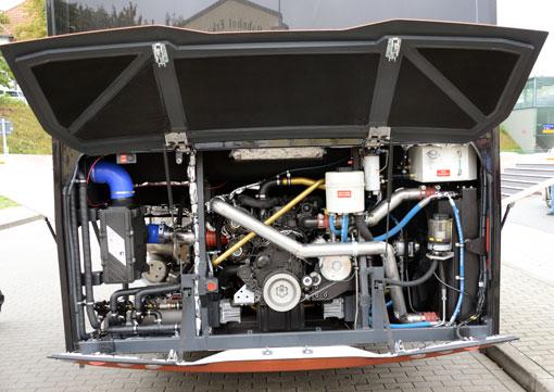 Solaris Interurbino med 6,7-litersmotor från Cummins. Foto: Ulo Maasing.