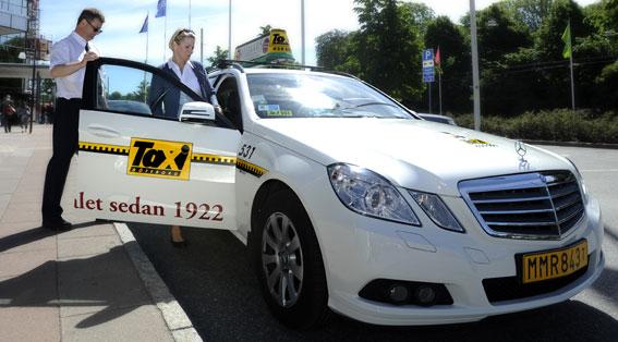 Foto: Taxi Göteborg.
