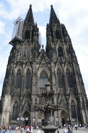 Tyskland är populärast i Europa som resmål för kulturresor. Bilden visar domen i Köln. Foto: Ulo Maasing.