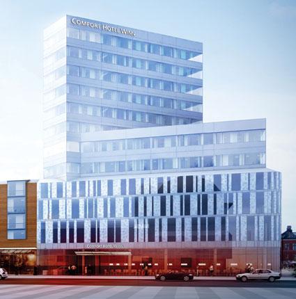 Nya Comfort Hotel Winn i Umeå. Bild: Choice Hotels.