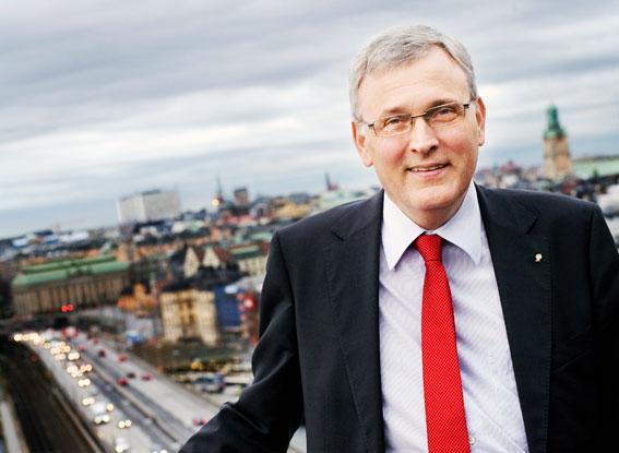 Anders Knape, ordförande i Sveriges Kommuner och Landsting, SKL. Foto: SKL.