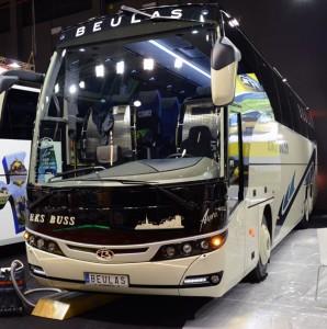 Beulas Aura för leverans till svenska Eks Buss. Foto: Ulo Maasing.