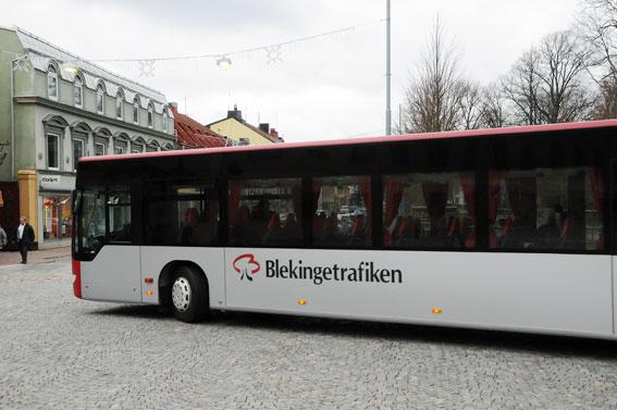 Det blir dyrare enkelbiljetter i Blekinge från den 15 december. Foto: Ulo Maasing.