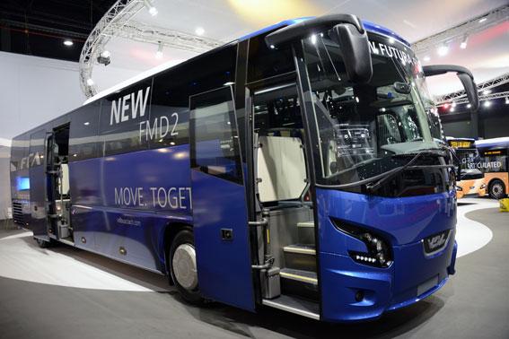 Byberg&Nordin har beställt 44 nya bussar från VDL. 27 av bussarna är av den nya modellen Futura FMD 2 som premiärvisas på Busworld i Kortrijk. Foto: Ulo Maasing.