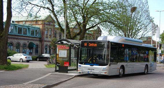 Hallandstrafiken lanserar unikt företagskort. Foto: Lasse Burell.