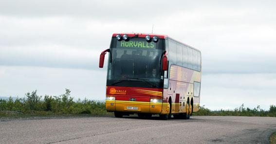 Hörvalls Buss köper Kiruna Trafik. Foto: Ulo Maasing.