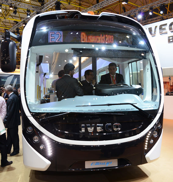 Fronten liknar Wrightbus´ bussar. Foto: Ulo Maasing.