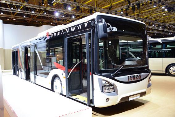 Ivecos stadsbuss Urbanway. Foto: Ulo Maasing.