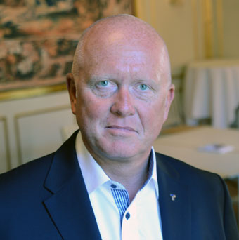 Transportgruppens vd Peter Jeppsson. Foto: Ulo Maasing.