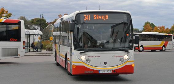 Jönköpings län satsar på bätrre kollektivtrafik. Foto: Ulo Maasing.