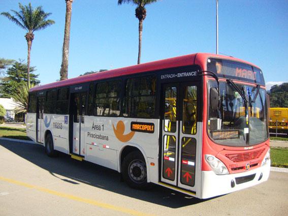 Mercedes-Benz har fått order på 2100 busschassier till lokaltrafikföretag i Brasilia. Foto: Daimler Buses.