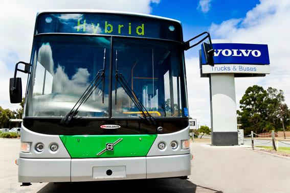Volvo ska leverera minst 60 nya bussar om året under tre år till Brisbane, Australien. Foto: Volvo Bussar.