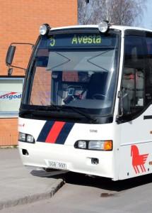 Nolltaxa har gjort jobbet stressigt för bussförare i Avesta. Foto: Calle Eklund/Wikimedia Commons.