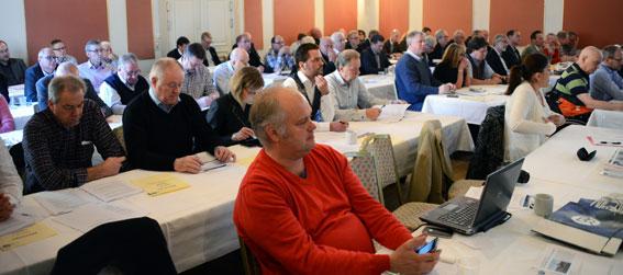 BR:s förbundsstämma klubbade på onsdagen enhälligt ett samgående med Bussarbetsgivarna till en ny branschorganisation, Sveriges Bussföretag. Foto: Ulo Maasing.