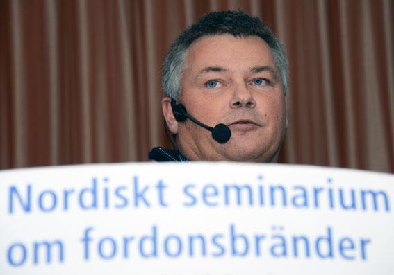 Alexander Johansson, Anker AB: Det finns brister i hur bussföretag arbetar med reparationer och servicerutiner. Foto: Ulo Maasing.