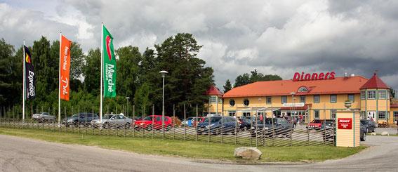 Dinners Arboga – först ut med företagets nya profil. Foto: Dinners.