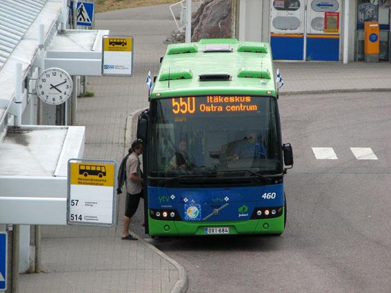 Tusentals bussturer ställs in när Nobinas förare i Esbo går ut i en dygnslång strejk. Foto: Anttihav/Wikimedia Commons.