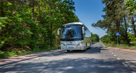 Scania Higer A30 lanseras nu i Norden. Först ut är Norge, men bussen kommer snart att marknadsföras även i Sverige. Foto: Scania.
