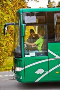 Bussresandet i Växjö ökar kraftigt. Foto: Länstrafiken Kronoberg.