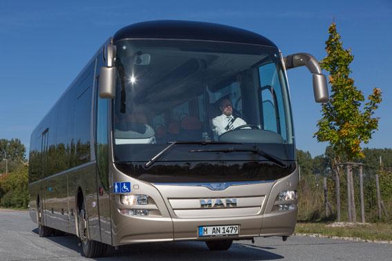 MAN toppade bussregistreringarna i landet under oktober. Foto: MAN.
