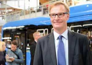 Volvo Bussars vd Olof Persson. Arkivbild: Ulo Maasing.